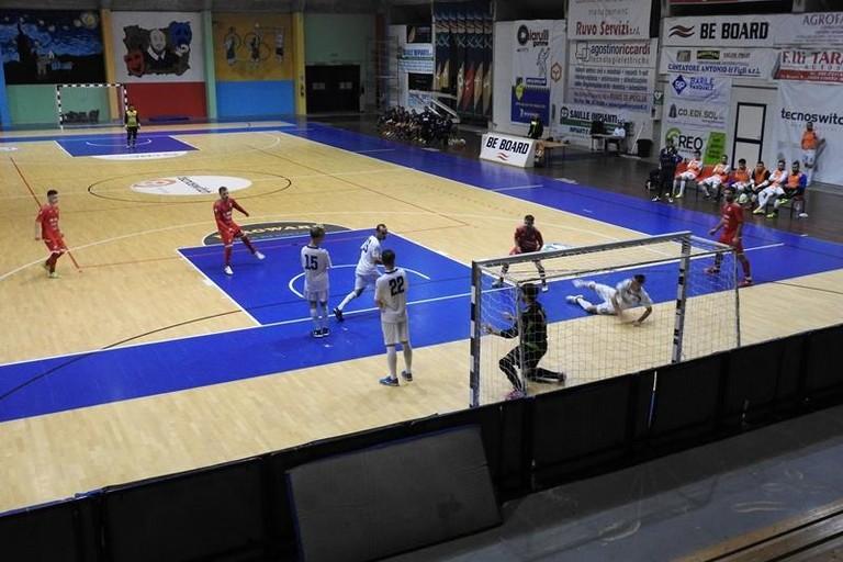 Futsal Ruvo in azione