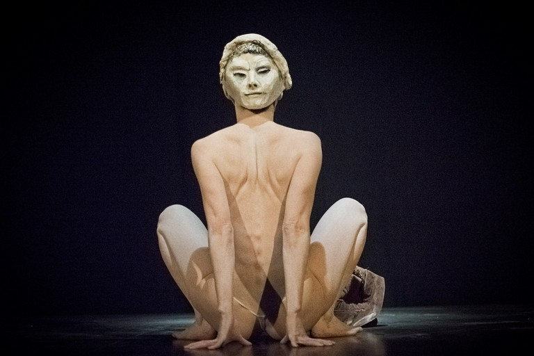 A Ruvo la danzatrice giapponese Sayoko Onishi