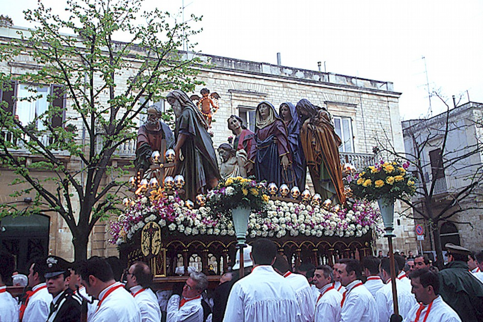settimana santa processione otto santi