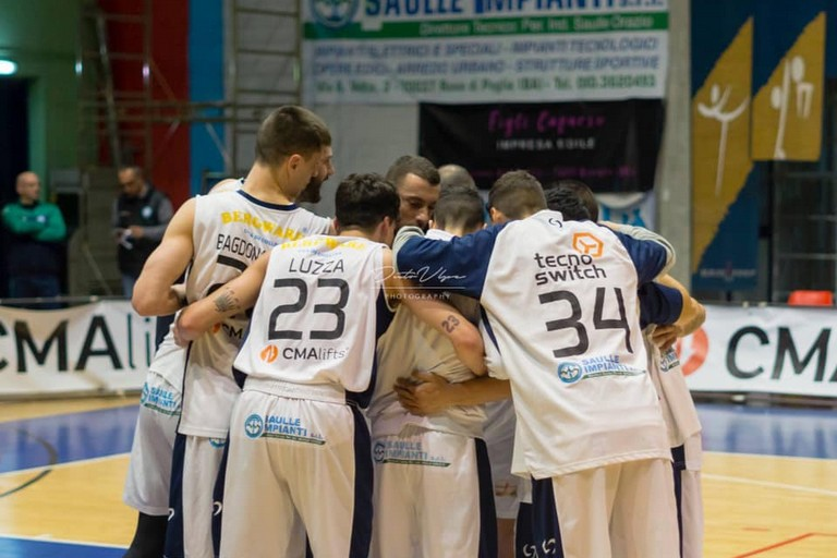 Talos Basket Ruvo. <span>Foto Donato Volpe</span>