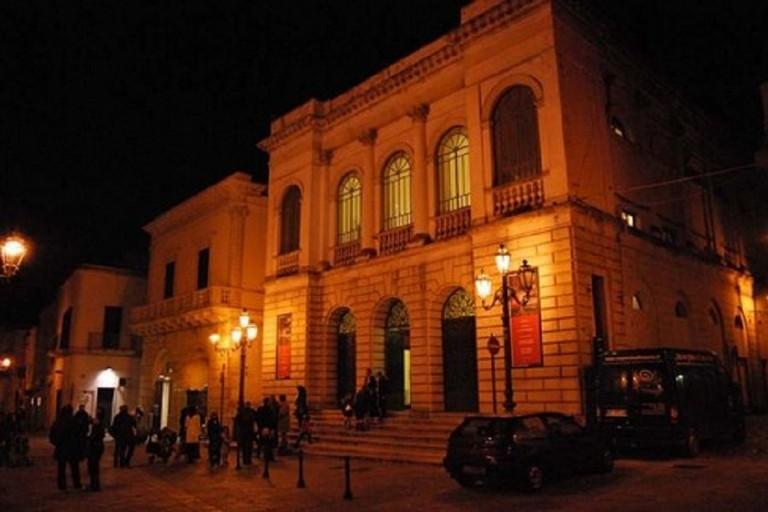 Il teatro comunale di Ruvo