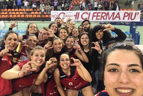 Tecno-switch Ruvo New Volley Ruvo. <span>Foto Giuseppe Tedone</span>