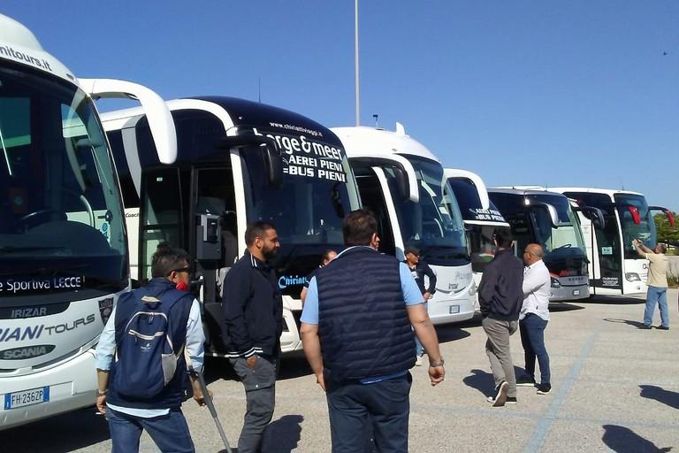 Aziende trasporto turistico in protesta